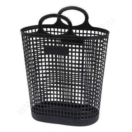 Bevásárló táska 27 literes - Trendi - FEKETE