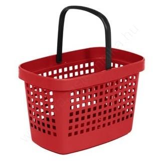 Bevásárló kosár 28 L Great - piros