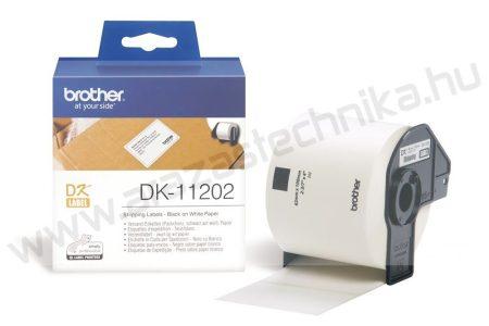 Brother DK-11202 etikett 62mm x 100mm 300db/tekercs