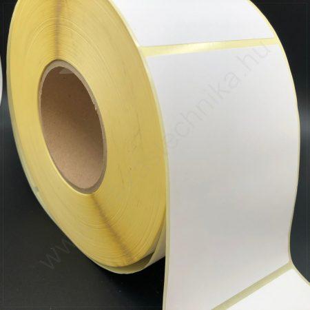 105×74 mm vellum papír címke 1.000 db/tekercs 76-os cséve