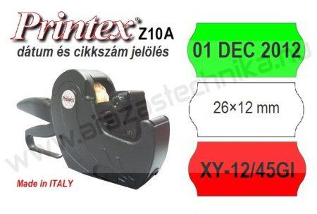PRINTEX Z10A alfanumerikus dátumozó - cikkszámozó