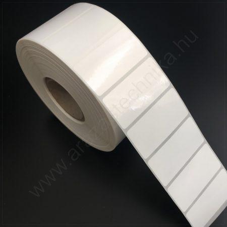 50x25mm PPGloss White címke (2.500db/40)