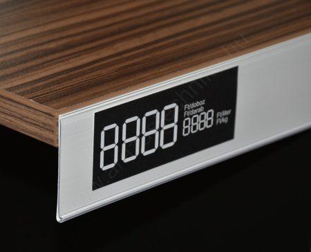 Ársín 5 cm ×1 méter ötapadós (fehér hátlap) - filmragasztó