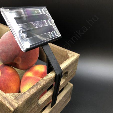 Árkazetta - szett - (70×49 mm) PromoLabel FEKETE kazetta + CLIP rögzítő