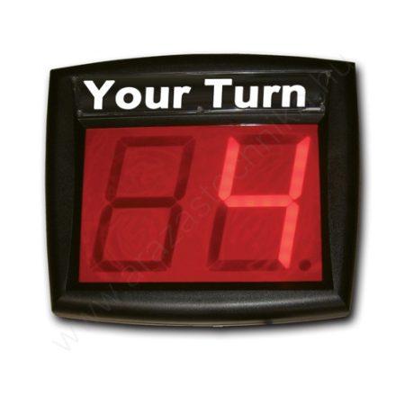 LCD display ügyfélhívóhoz