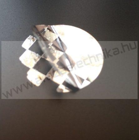 PEPITA nyomot hagyó címke  20mm ezüst biztonsági címke - fényes