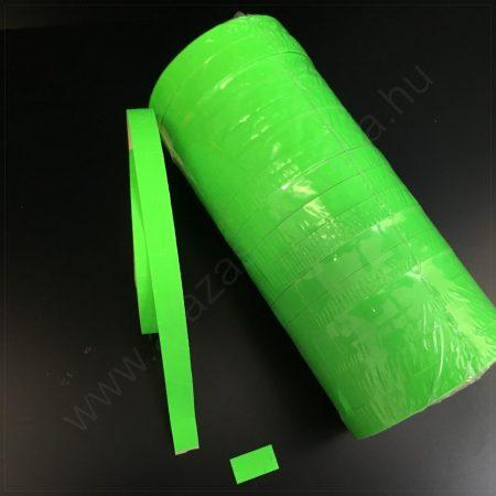 Monarch 1110 géphez 10x18,6mm FLUO zöld árazószalag