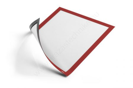 Duraframe® MAGNETIC A4 - piros mágneses keret fémre (4869)