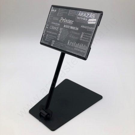 Árkazetta SZETT PromoLabel 70x49mm + TALP + 10cm szár (fekete)