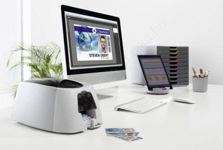 Plasztikkártya nyomtató Duracard ID 300 (8910) (Ajándék 100 db kártya + színes festék)
