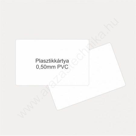 Duracard plasztikkártya (0,5 mm) - 100db/csomag (8914-02)