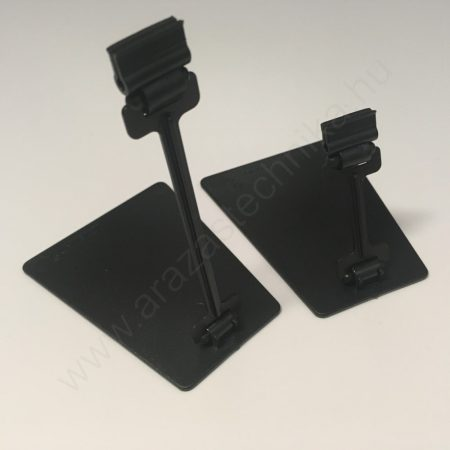TALPAS kartontartó (10cm szár) - fekete