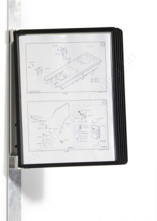 Vario® Magnet Wall 5db A4 - FALI lapozó (5914-01) fekete