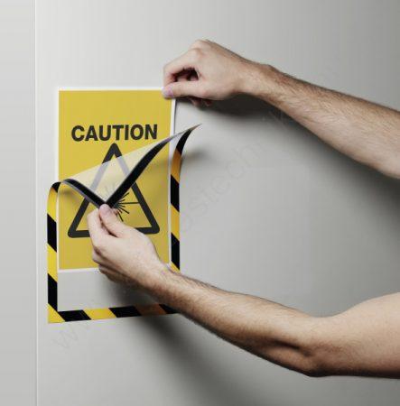 Duraframe® MAGNETIC SECURITY A4 - (4945-130) infokeret fémre
