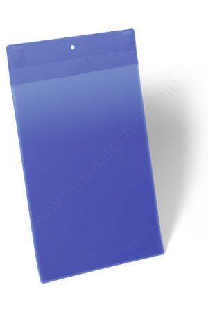 Neodym Mágneses logisztikai zseb A4 álló - KÜLTÉRRE IS! (1747-07) kék