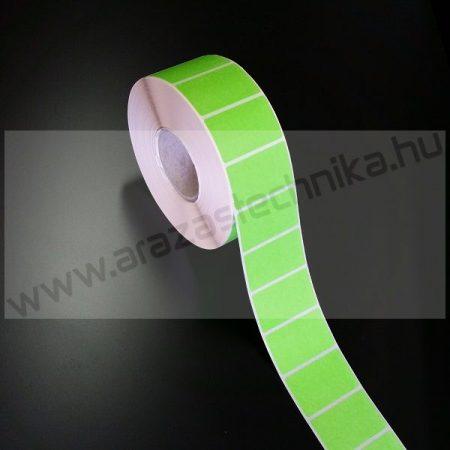 50x25mm THERMO címke - ZÖLD (2.000 db/40)