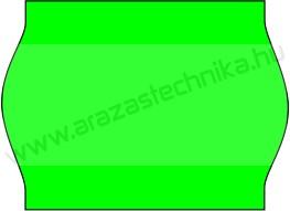 METO EC1622 / 22x16mm FLUO zöld árazócímke (42tek/#)
