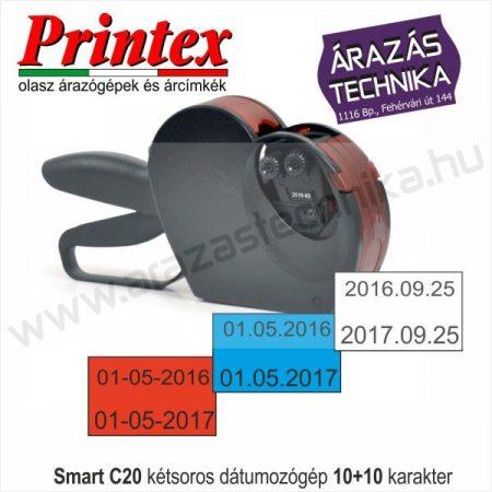 Smart C20 kétsoros 10+10 dátumozógép