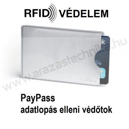 PayPass bankkártya védőtok - RFID adatlopás ellen (8900-23) Kiszerelés: 10 db/ csomag