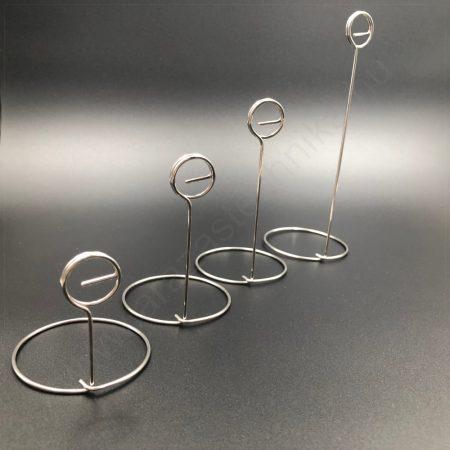 INOX talpas ártábla tartó (12cm)