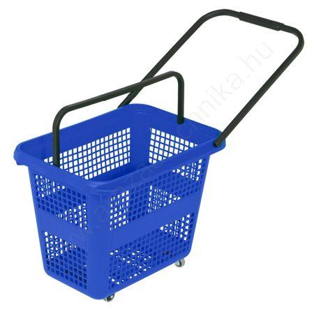 Gurulós bevásárló kosár 54 literes - kék