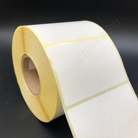 77x50 mm TT papír címke (1.000 db/40) REM. visszaszedhető