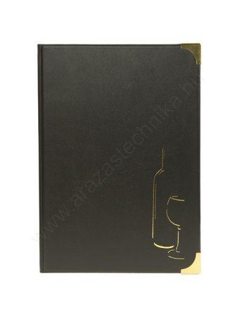 A4 BORlaptartó BASIC Fekete (MC-BRWC-BL)