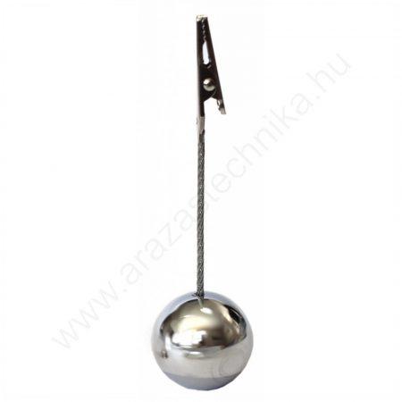 Csipesz - fém gömb talp