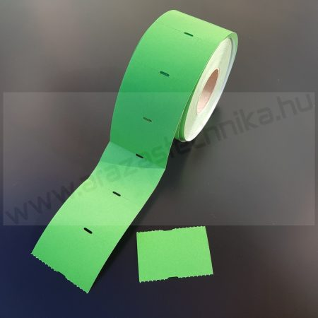 Polccímke 55x38 mm THERMO (1.000db/tek) - zöld