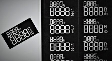Digitális  öntapadós etikett 48×25mm ( 44 db/ív) FEKETE