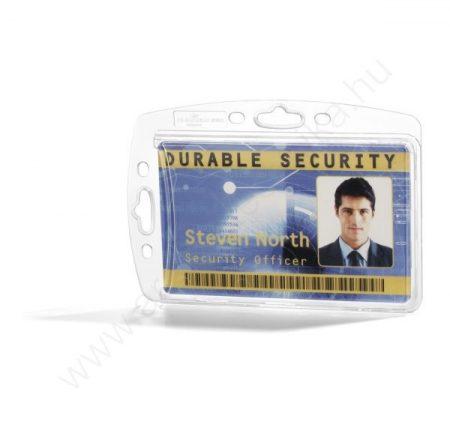 Biztonsági kártyatartó AKRIL tok - zárt (8905) MONO