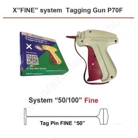Printex P70F FINE  szálbelövő pisztoly