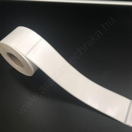 50x225 mm PP White műanyag címke 200 db/40