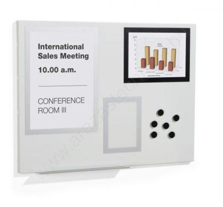 Fehér mágnestábla 60×90cm (5002-10) DURAFRAME® MAGNETIC BOARD M