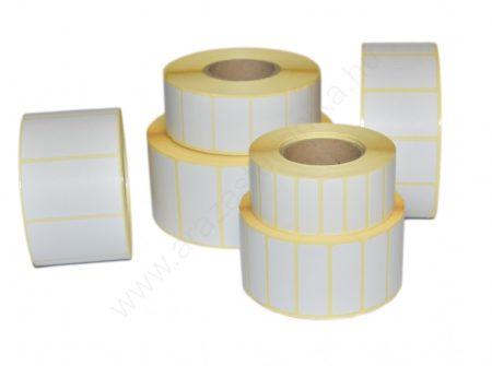 50x25mm TT papír címke (2.500 db/40) REM. visszaszedhető