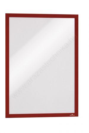 Duraframe® A3 - piros infokeret (4883-03) - öntapadó hátlap