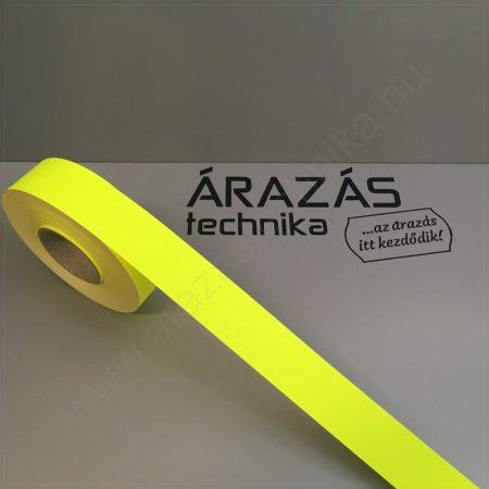 Háttércsík 4cm × 50 méter (FLUO citrom papír)