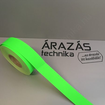 Háttércsík 4cm × 50 méter (FLUO zöld papír)