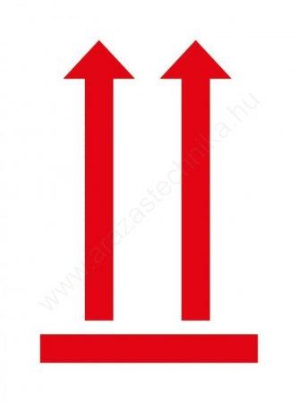 Avery piktogram álló helyzetet jelző nyílak 74 x 100 mm