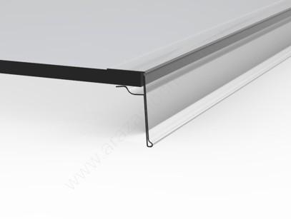 Ársín ÜVEGPOLCRA 4 cm×1m