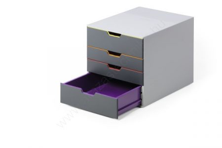 VARICOLOR®  4 fiókos iratrendező doboz (760427)