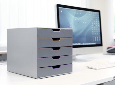 VARICOLOR®  5 fiókos iratrendező doboz (760527)