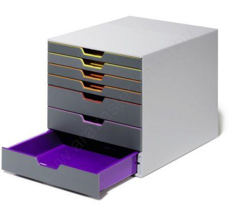 VARICOLOR®  7 fiókos iratrendező doboz (760727)