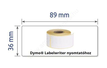 36×89 mm thermo címke  DYMO címkenyomtatóhoz (AS0722400)