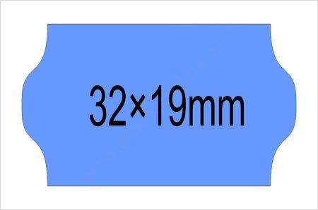 32x19mm kék OLASZ árazószalag