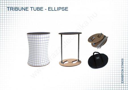 Promóciós pult - Információs pult - ELLIPSZIS (textil)