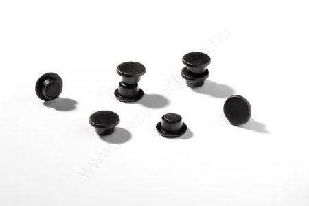 Jelölő mágnes taktikai táblához (20db/cs) (4751-01) FEKETE