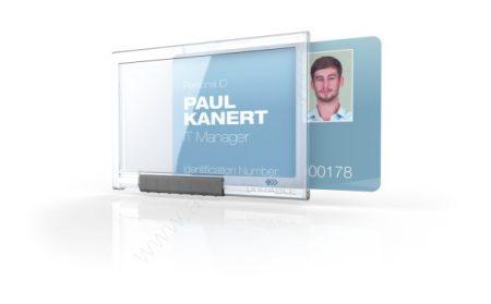 Biztonsági kártyatartó DURABLE PUSHBOX MONO (8922)