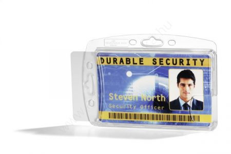 Biztonsági kártyatartó AKRIL tok - zárt (8924) DUO