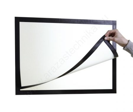 Duraframe® POSTER A2 - fekete infokeret (4995-01) öntapadó hátlap